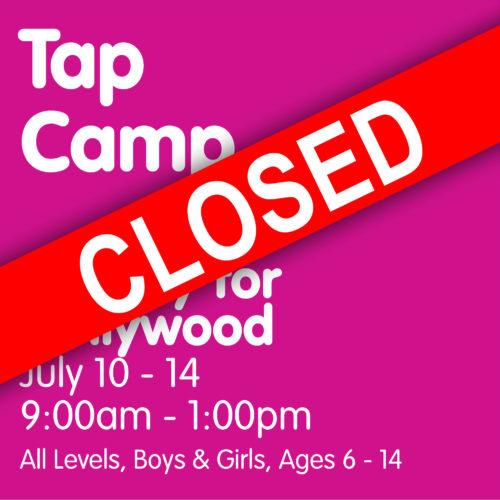 2017 Tap Camp Closed