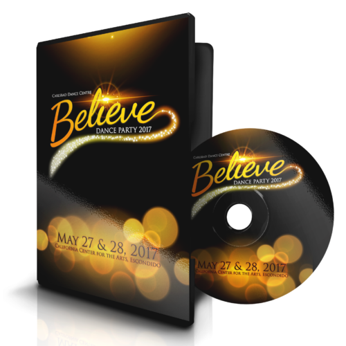 2017 Believe DVD